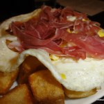 LaLoLa Iberian Ham Fried Egg Fries