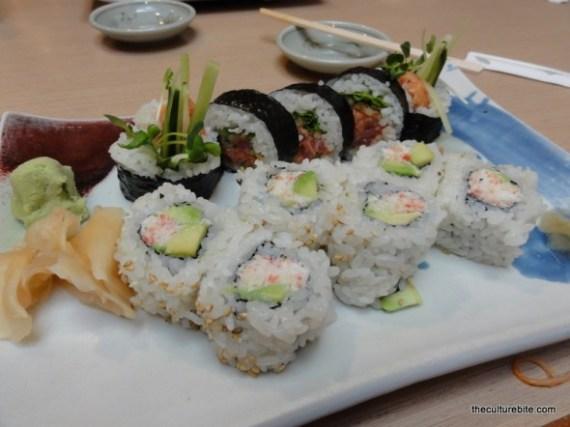 Hamano Sushi Combo 2