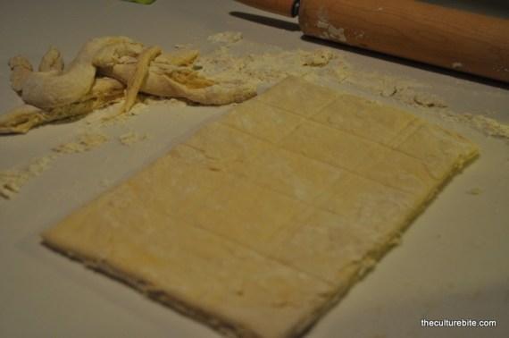 Sams Kitchen Beignets Rolled Dough