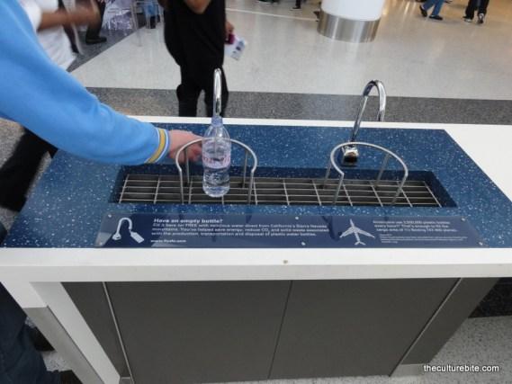 sfo water fountain