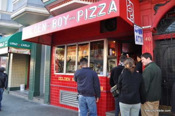 Golden Boy Pizza Storefront