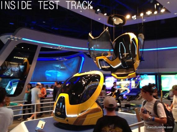 Inside Test Track