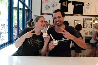 It's April Bloomfield Week at Morgenstern's Finest Ice Cream