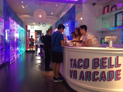 Taco Bell Serves Up Free Tacos & PlayStation VR Demos in NYC