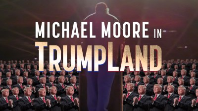 Filmmaker Michael Moore Unveils His October Surprise, 'Michael Moore in TrumpLand'