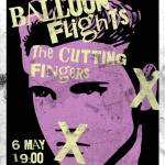 Concierto 6 de mayo: Balloon Flights + The Cutting Fingers – Four Seasons Club