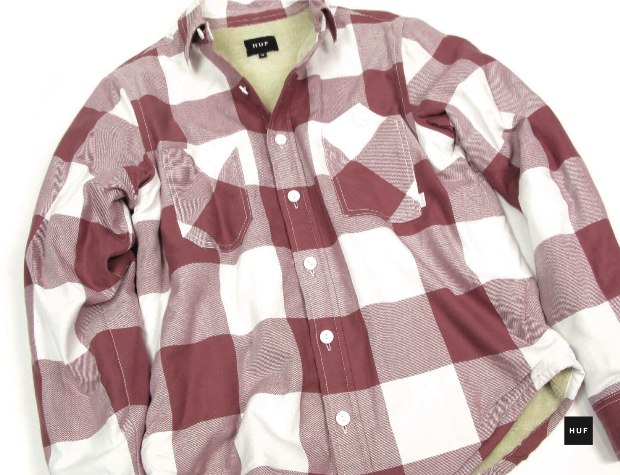 sherpa lined flannel