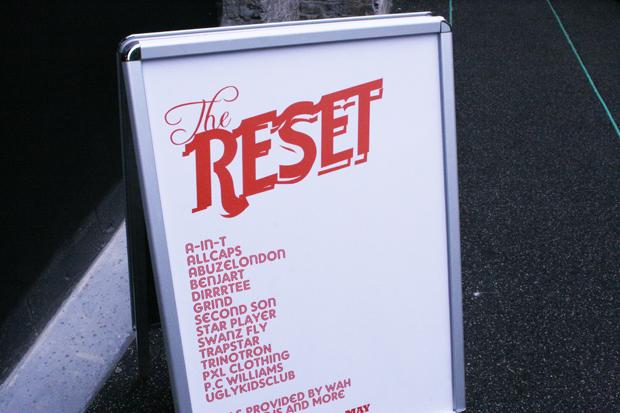 Reset Sign