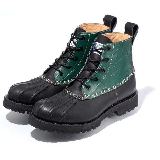 BAPE-LL-Soldier-Boot-Green