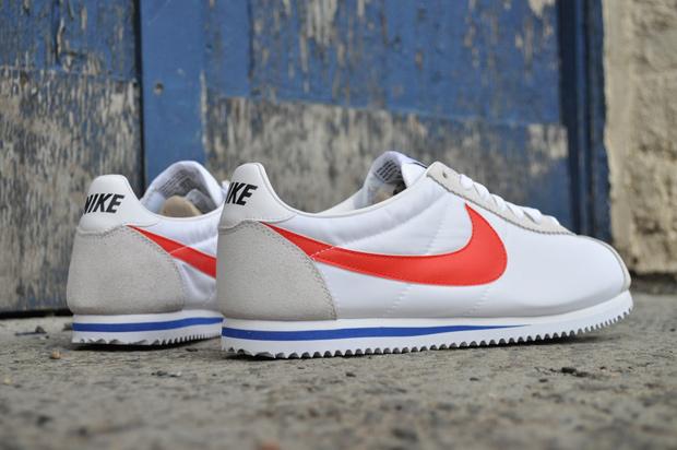 Nike Cortez White Nylon