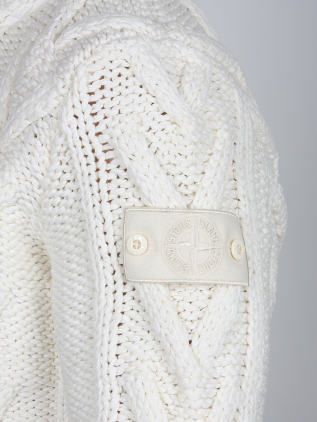 Stone-Island-Ghost-Piece-Knitted-Cardigan-White-2