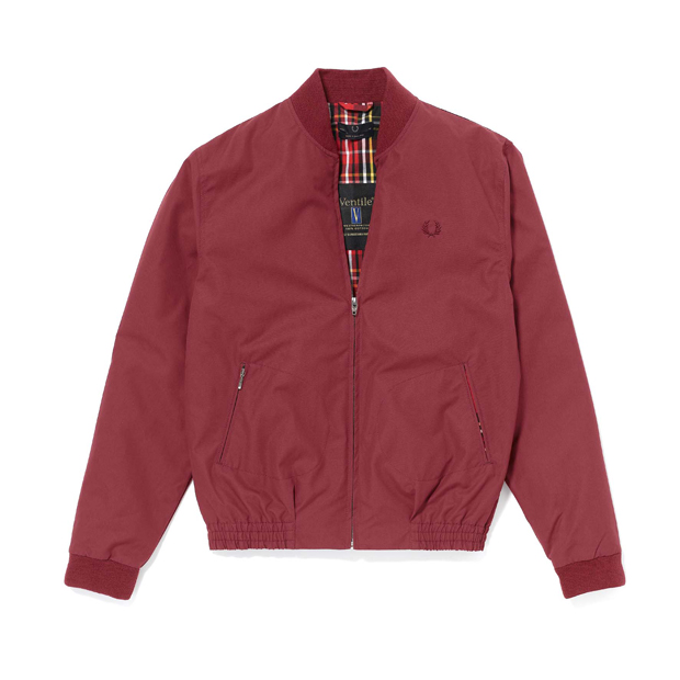 Fred-Perry-Laurel-Wreath-SS11-Ventile-Bomber-Jacket-Maroon-01