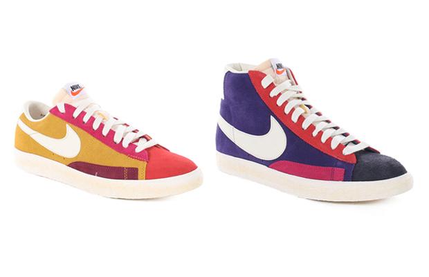 Nike Blazer Vintage Low & Hi QS (Multicoloured)