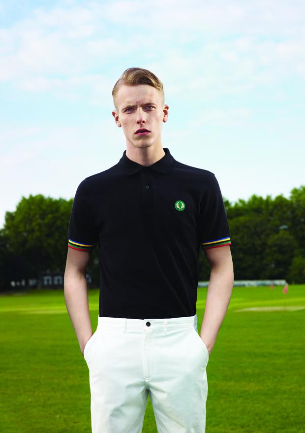 Track & Field Shirt- Black