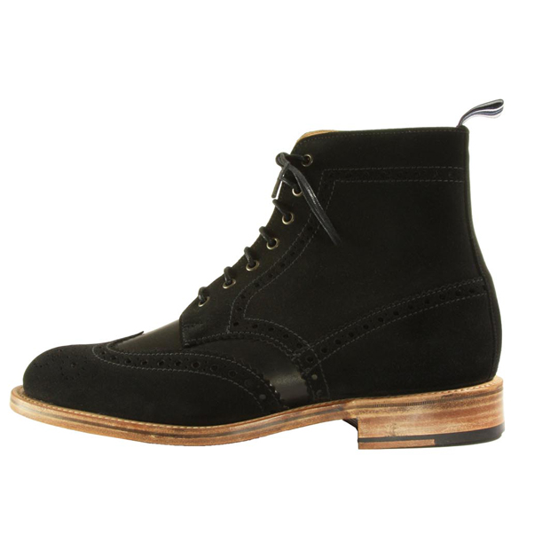 Oliver-Spencer-AW12-Brogue-Boot-Black-01
