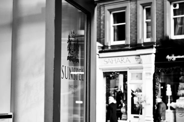 Sunspel store Chiltern Street London 09