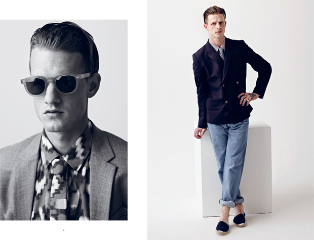 Hentsch Man Spring Summer 2013 Lookbook 04