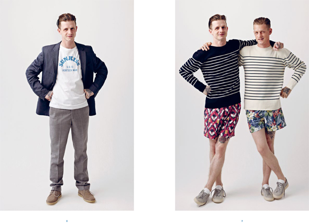 Hentsch Man Spring Summer 2013 Lookbook 06