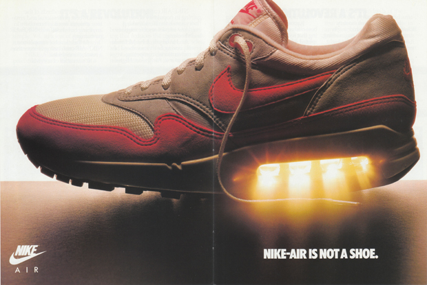 Original Nike Air 1987 Print Advert The Daily Street 01
