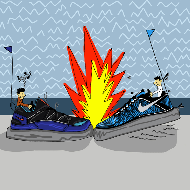 Trainer Takeover Sneaker Illustration Series by Josh Parkin The Daily Street 05