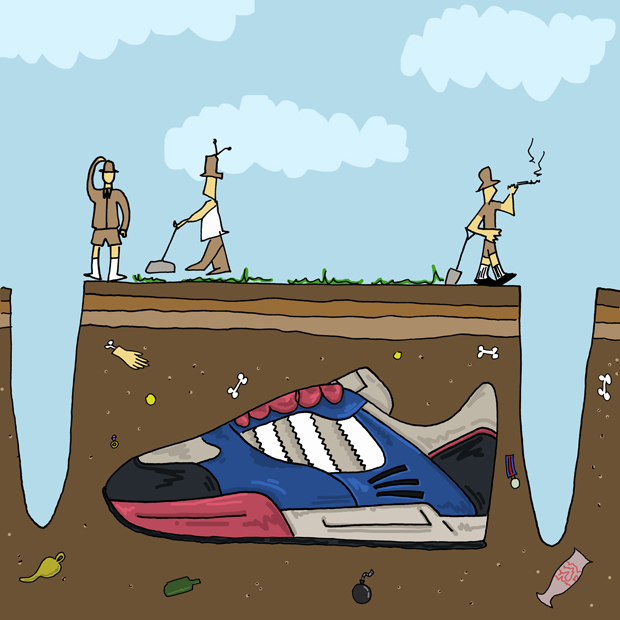 Trainer Takeover Sneaker Illustration Series by Josh Parkin The Daily Street 15