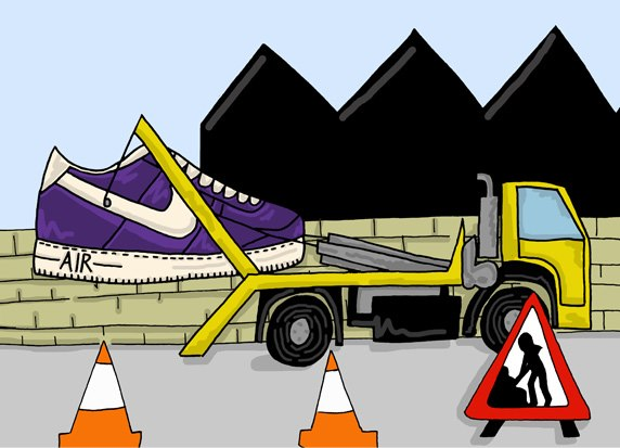 An Illustrated Preview of Nike SS13 Footwear by Josh Parkin for The Chimp Store 01