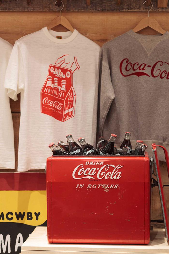 Human Made x Coca-Cola display Present London 04