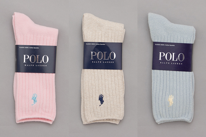 Polo Ralph Lauren Pastel Classic Crew socks 01