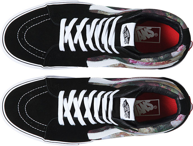 Supreme x Vans Rose Print Triple Pack 03