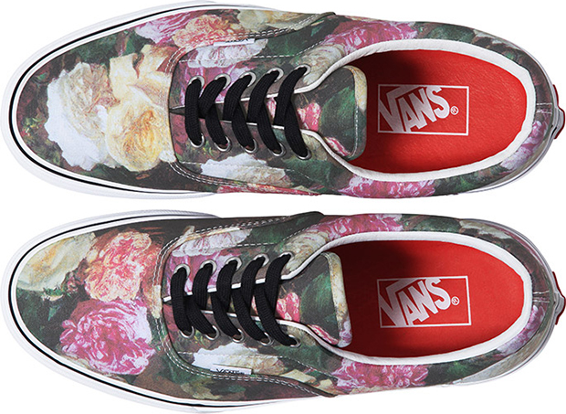 Supreme x Vans Rose Print Triple Pack 04