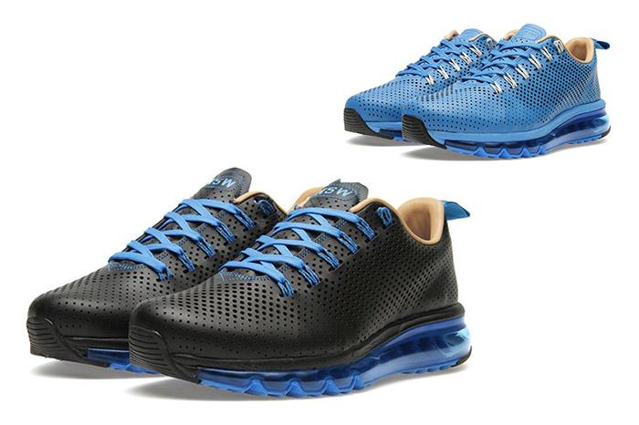 Nike Air Max Motion NSW Black Photo Blue 01