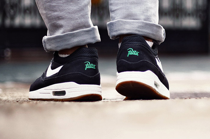 Patta x Nike Air Max 1 Lucky Green 03