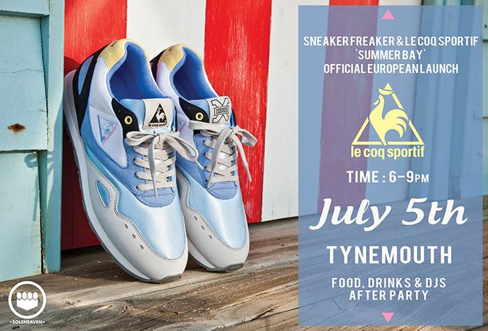 Sneaker-Freaker-x-Le-Coq-Sportif-Summer-Bay-UK-Launch-flyer