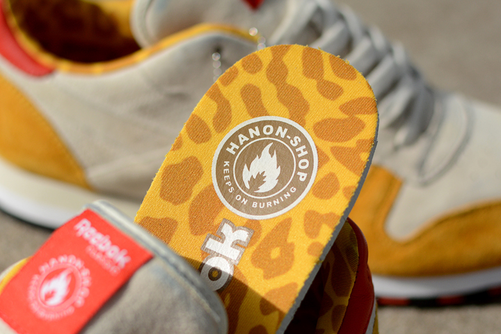 Hanon x Reebok Classic Leather 30th Anniversary Aberdeen Leopards 10