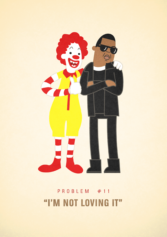 Jay-Z 99 problems illustrated by Ali Graham 03