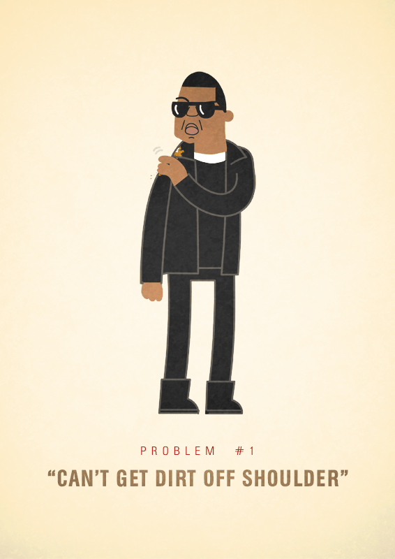 Jay-Z 99 problems illustrated by Ali Graham 04