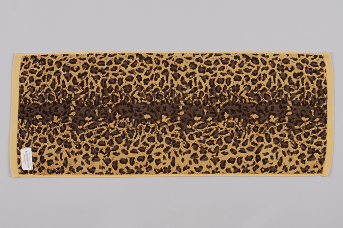 Neighborhood Leopard Print Towel 01