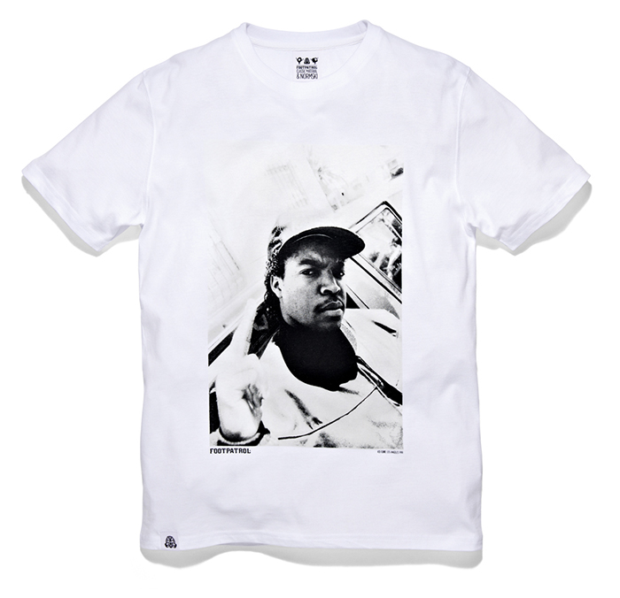 Footpatrol Classic Material Normski T-shirt Collection 02