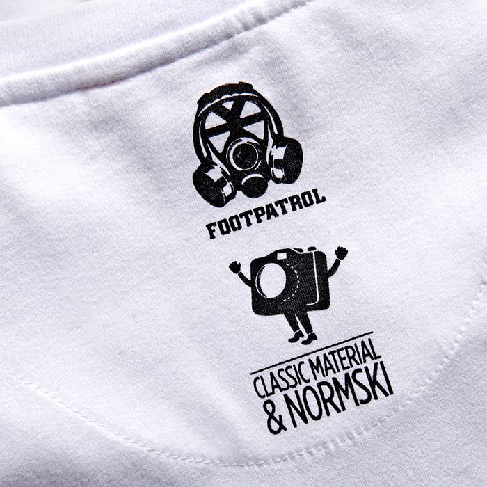 Footpatrol Classic Material Normski T-shirt Collection 14