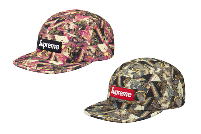 Supreme x Liberty London x Storm Thorgerson Camp Caps 36b444c07eca