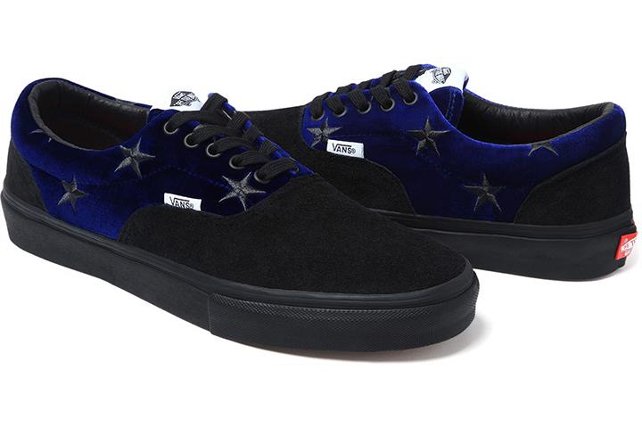Supreme x Vans Velvet Sk8-Hi & Era 10