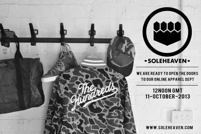 Soleheaven-Launch-Apparel-Department