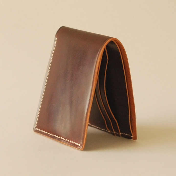 Ashdown Workshop Horween Collection Premium Bi-Fold Wallets 002