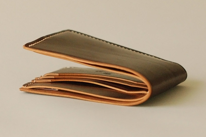 Ashdown Workshop Horween Collection Premium Bi-Fold Wallets 003