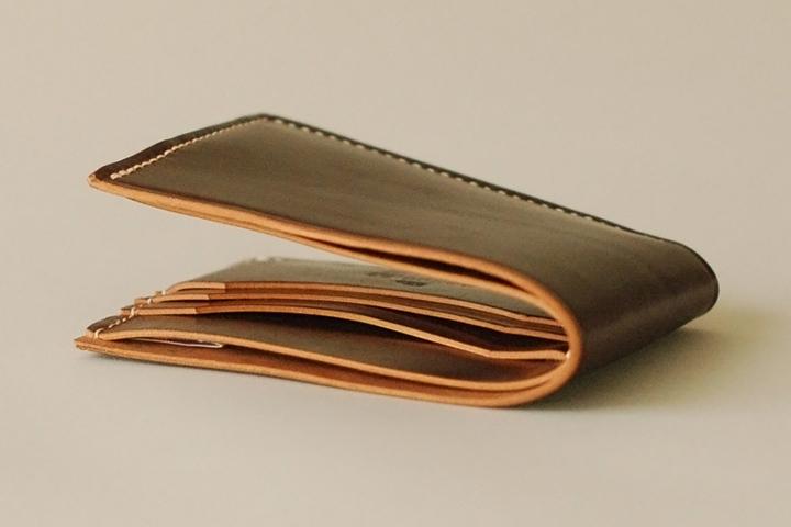 Ashdown Workshop Horween Collection Premium Bi-Fold Wallets 003