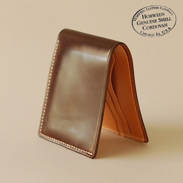 Ashdown Workshop Horween Collection Premium Bi-Fold Wallets 005