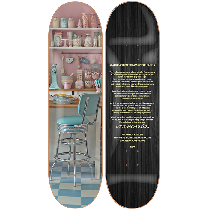 Skateboard Cafe Passion For Baking Decks 003