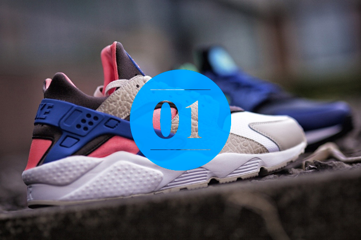 01 Nike Air Huarache LE size UK Exclusives