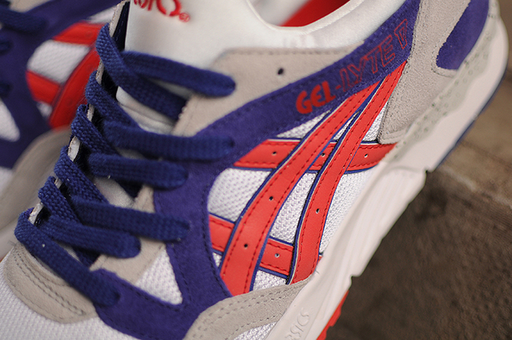 Asics Gel Lyte V OG White Fiery Red 004