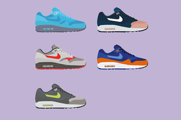 Illustrator The Lime Bath Ronnie Fieg works Nike Air Max 1 The Daily Street 01